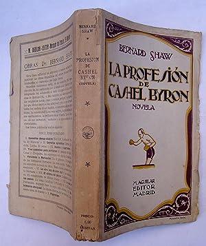 La Profesión De Cashel Byron: Bernard Shaw