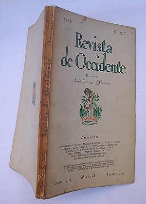 REVISTA DE OCCIDENTE n XIV. Abejas Milenarias; Poemas; Gravitación; Icaro o El Porvenir De ...