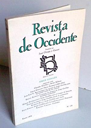 REVISTA DE OCCIDENTE n130 Otros Poemas (1966-1972); La Poesía De Jorge Guillén Ante La Actual Cri...