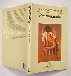 Reanudación: Alain Robbe-Grillet