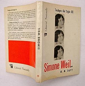 Simone Weil: Maria Magdalena Davy