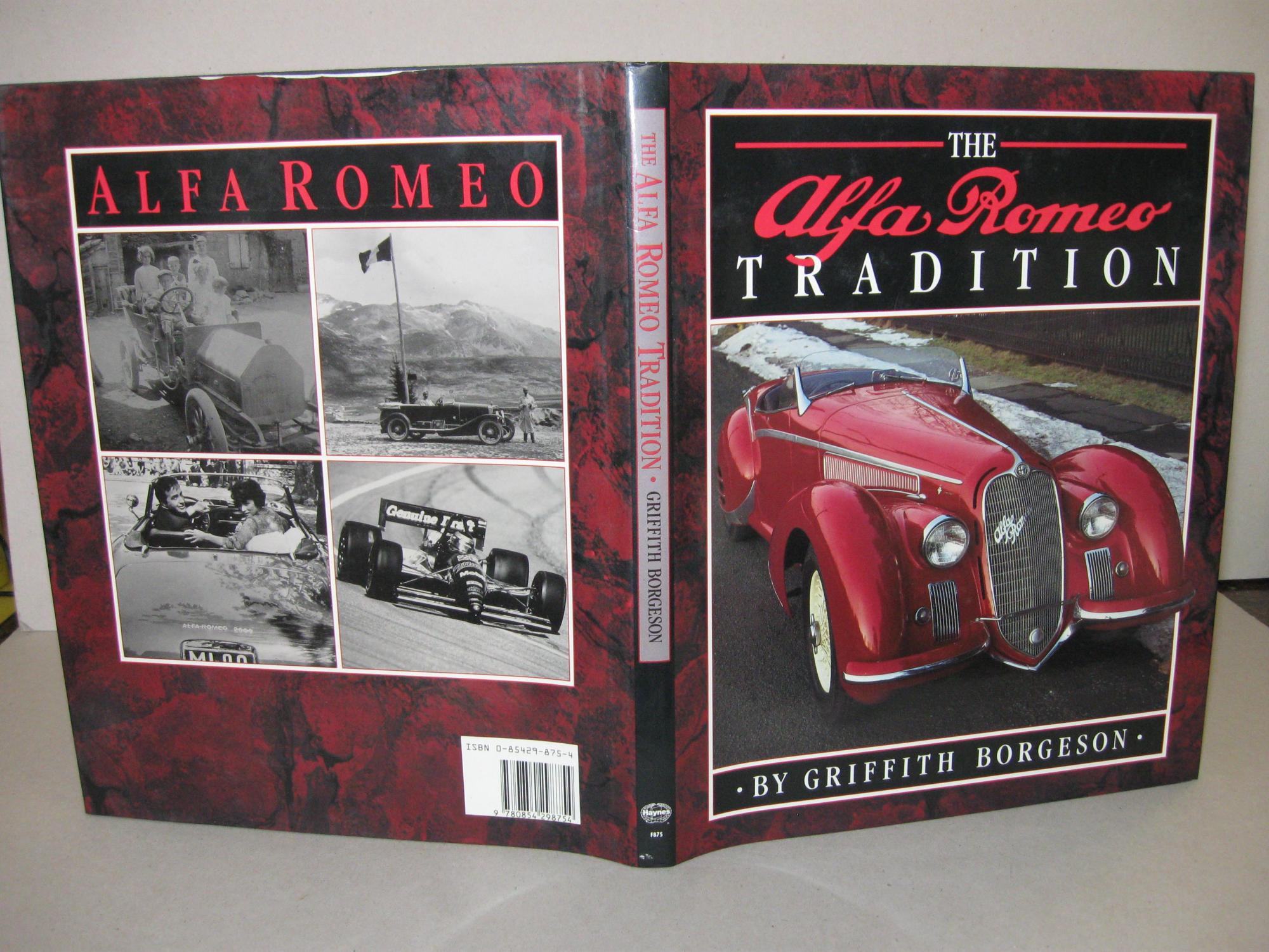 Alfa Romeo Tradition: Borgeson, Griffith