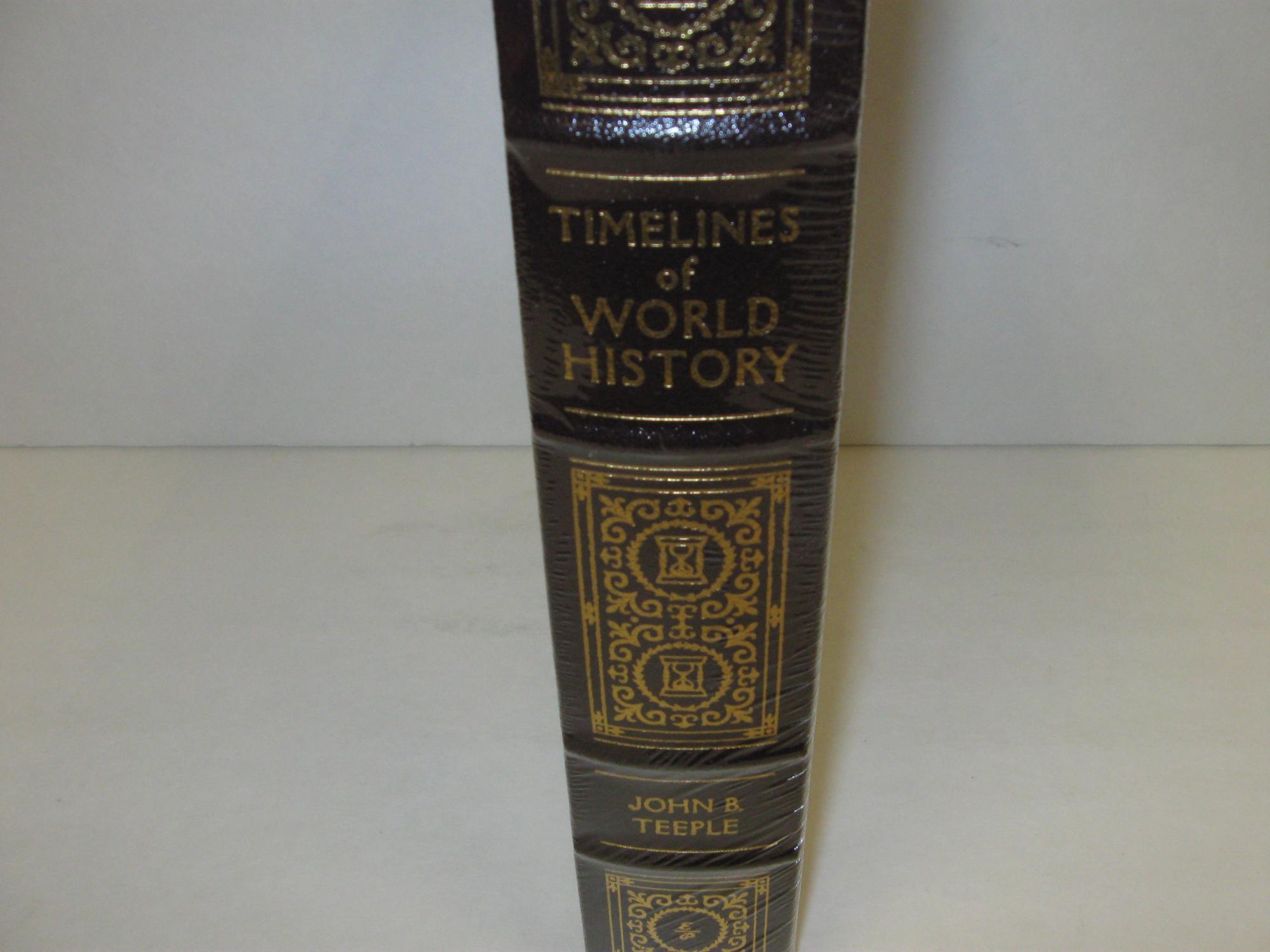 Timelines of World History: Teeple, John B.