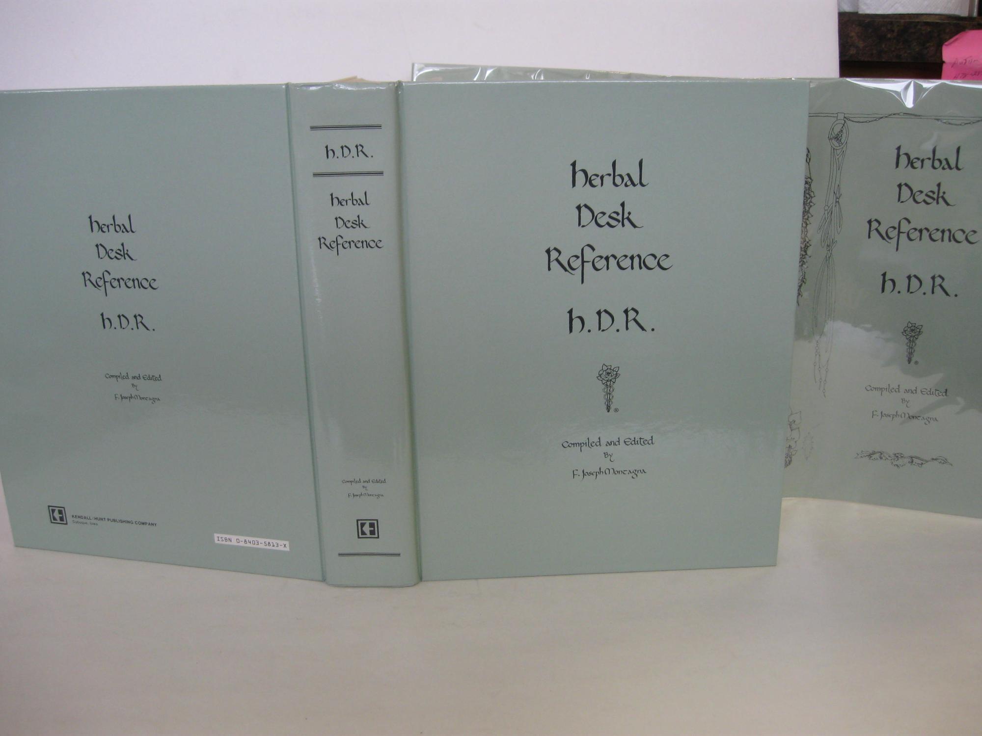 Herbal Desk Reference: Montagna, F. Joseph