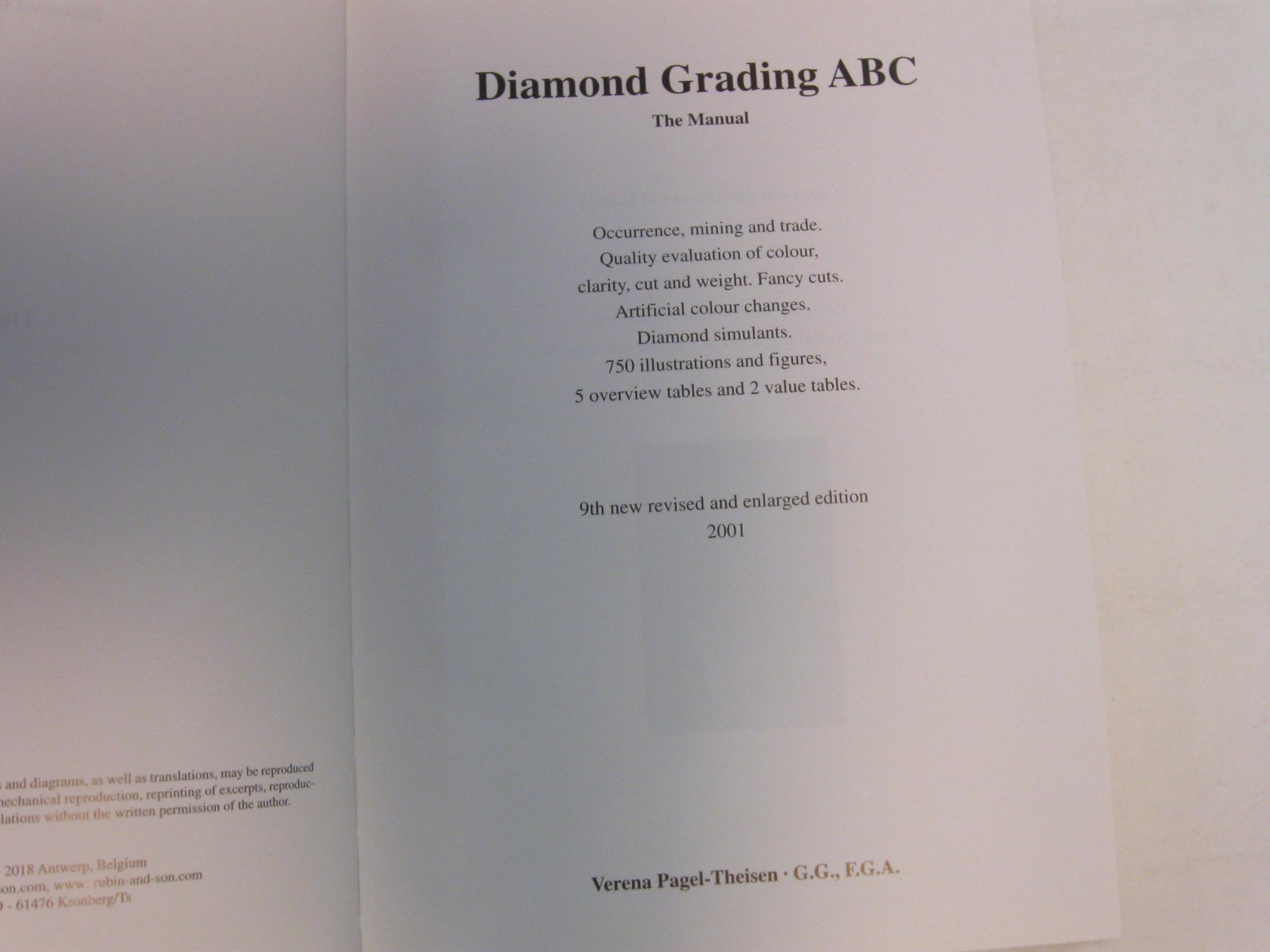 ... Verena Diamond Grading ABC The Manual: Pagel-Theisen, ...