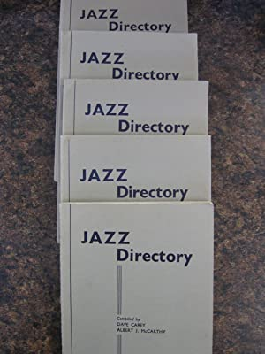 JAZZ Directory - Directory of Recorded Jazz and Swing Music (including Gospel & Blues records. ...