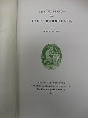 Writings of John Burroughs: (signed, ltd): John Burroughs.(Autographed Edition; # 670 of 750; ...