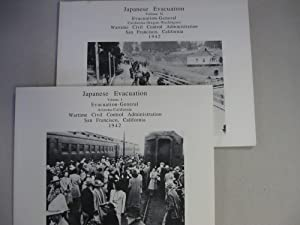 Selected Photos, Evacuation of Japanese from Pacific Coast (2 Vol set): Wartime Civil Control Admin...