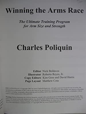 Winning the Arms Race: The Ultimate Training Program for Arm Size and Strength: Poliquin, Charles