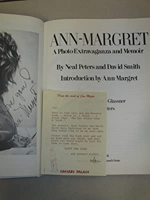 Ann - Margrett a Photo Extravaganza and Memoir: (SIGNED w/review Letter and Request to Appear ...