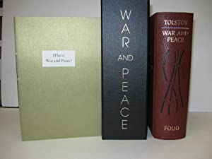 War and Peace; (Ltd #1045 of 1750): Tolstoy, Leo
