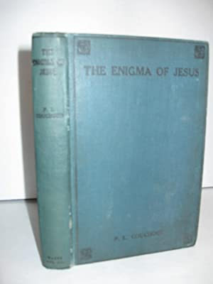 Enigma of Jesus; (w/3 Signed Letters from the author): Couchoun, Paul Louis