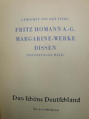 Homan Serienbilder. Das schöne Deutschland. In 200 Bildern. Serien 1 - 20.: Fritz Homann