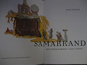 """Samarkand and Other Markets I have Known: (Signed , Ltd. Letter """"S""""): Soyinka, Wole."""