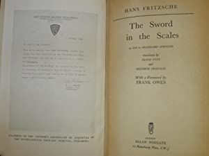 Sword in the Scales: Fritzsche, Hans