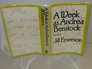 Week as Andrea Benstock: Emerson, Jill; AKA, (Block, Lawrence)