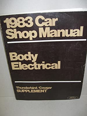1983 Car Shop Manual: (5 Volume set)