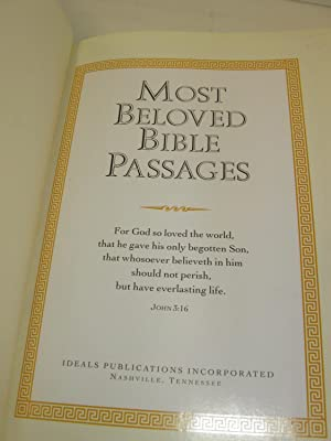Most Beloved Bible Passages