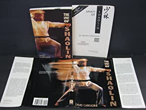 Spirit of Shaolin: (Pre-pub Promotion Copy, W/14pp Promo pamphlet)* Note: Carradine, David