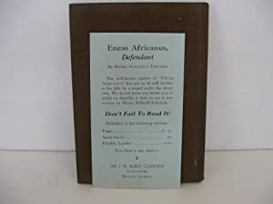 Eneas Africanus: Edwards, Harry Stillwell