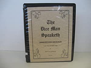 Dice Man Speaketh: Casino Dice Book and Catalog: (Signed): Laudeman, Jeff