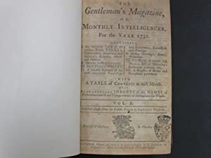 Gentleman's Magazine and Historical Chronicles or Monthly Intelligencer; ( 106 Uniform Library ...