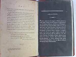 Epistle from the Marquis De La Fayette to General Washington [First Edition, Pamphlet Bound in 3&#...