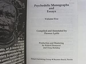 Psychedelic Monographs and Essays Vol Five: Lyttle, Thomas