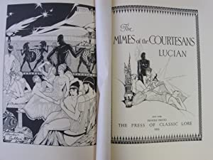 The Mimes of the Courtesans: Lucian