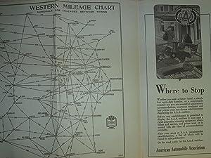 AAA WESTERN TOUR BOOK: Automobile Club of Michigan