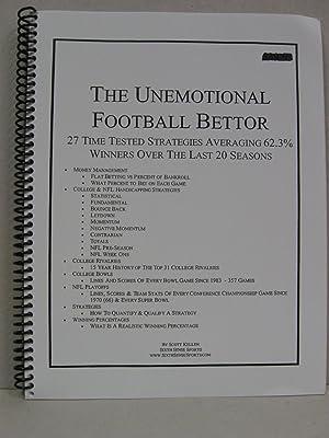 Unemotional Football Bettor: Kellen, Scott