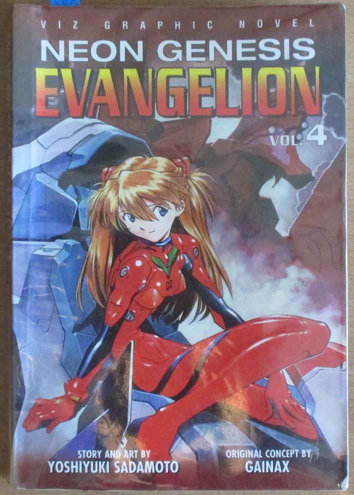 evangelion neon genesis vol 4