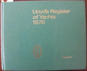 Lloyd's Register of Yachts 1978