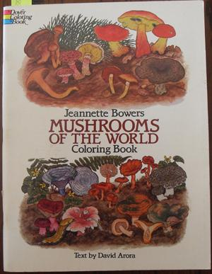 Mushrooms of the World Coloring Book