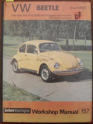 workshop manual for volkswagen beetle from 1968 by harris p rh abebooks com 1966 VW Beetle 1949 Beetle