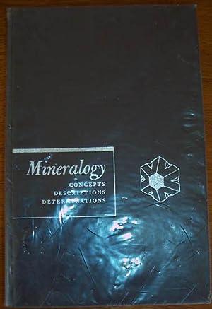 Mineralogy: Concepts, Descriptions, Determinations: Berry, L.G.; And