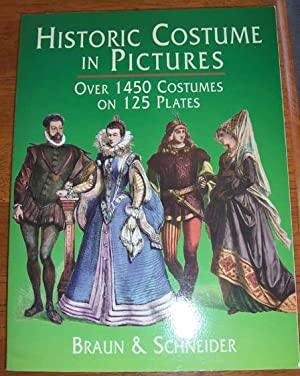 Historic Costume in Pictures: Over 1450 Costumes on 125 Plates
