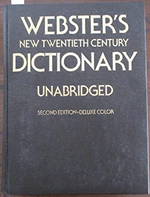 Webster's New Twentieth Century Dictionary of the English Language (Unabridged)