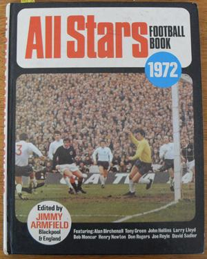 All Stars Football Book 1972