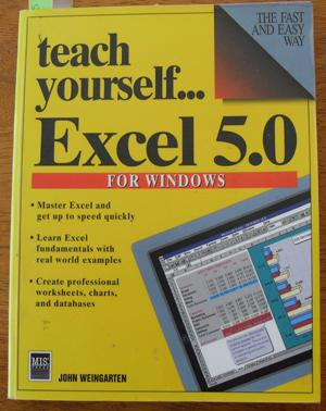 Teach Yourself.Excel 5.0 For Windows