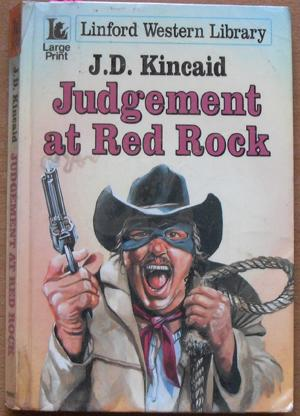 Judgement at Red Rock: Linford Western Library (Large Print)