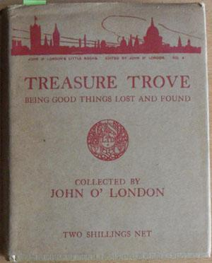 Treasure Trove: Being Good Things Lost and Found