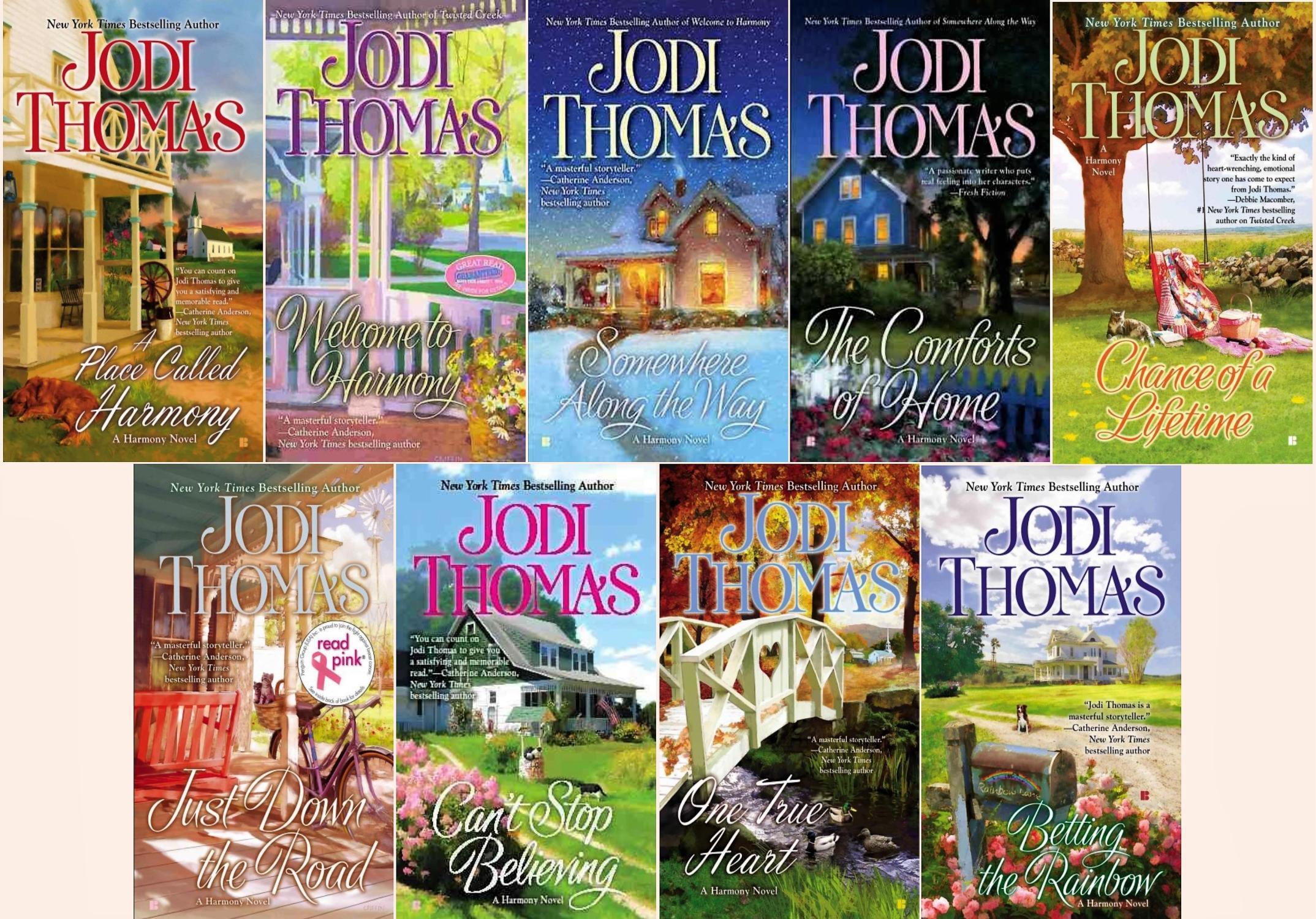 Harmony Series Bks 0.5 - 8 - Jodi Thomas