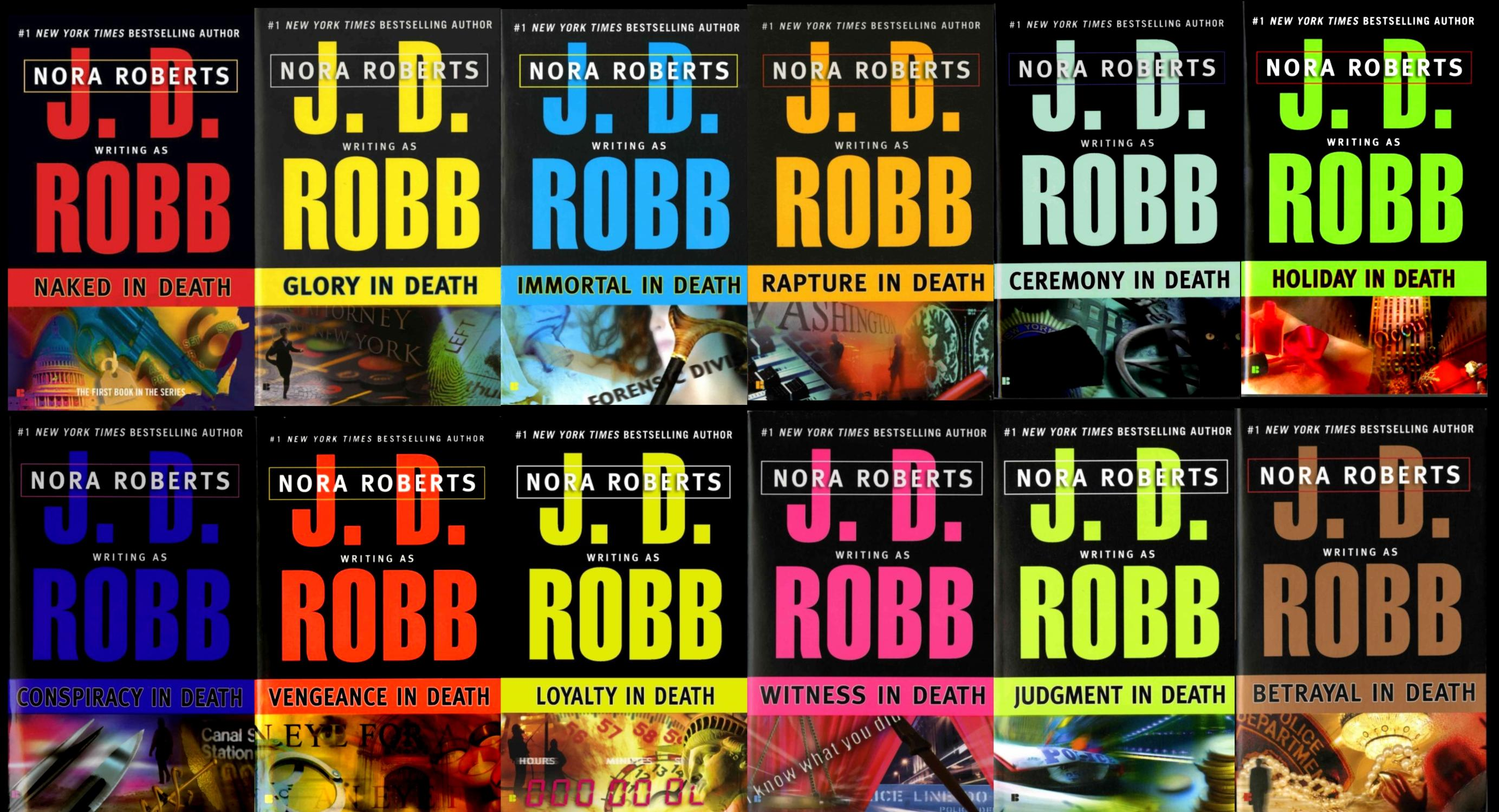 First 12 books of the In Death Series