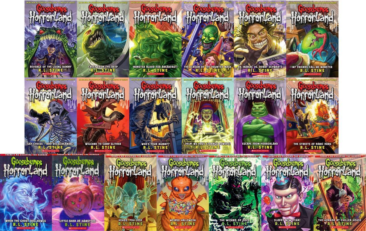 Goosebumps HORRORLAND 1-19 CP by Stine, R L: Scholastic ...