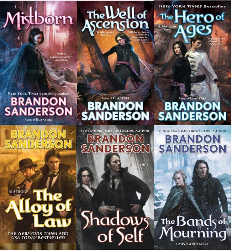 Mistborn de Sanderson, Brandon: MPS - Lakeside Books
