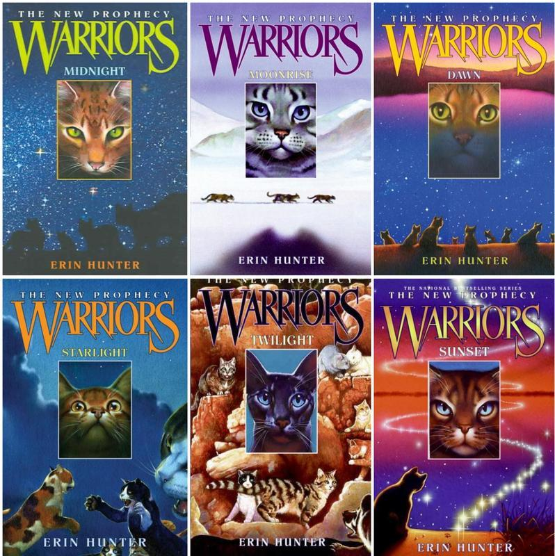Warriors THE NEW PROPHECY 1-6 HC: