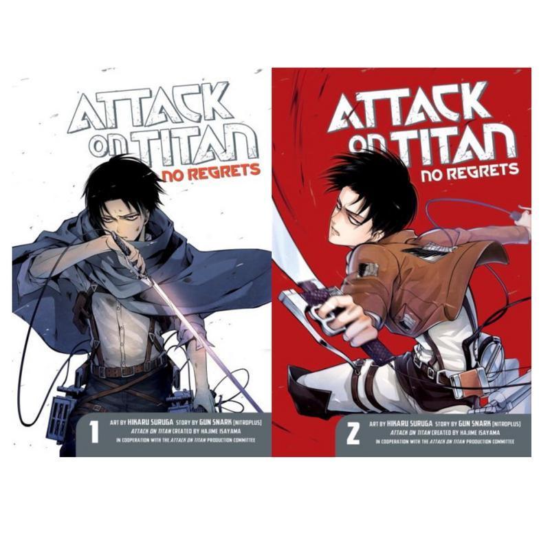 Attack on Titan NO REGRETS Spinoff MANGA Series Paperback ...