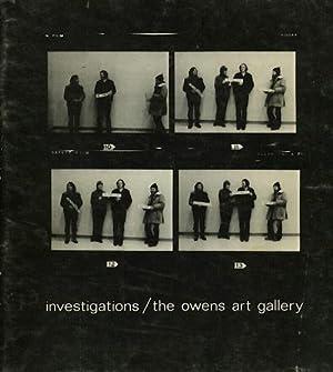 Investigations. Ian Carr-Harris, John Greer, N. E. Thing Co.: Theberge Paul