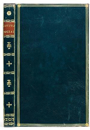 Du Contrat social, ou principes du droit: ROUSSEAU, Jean-Jacques.
